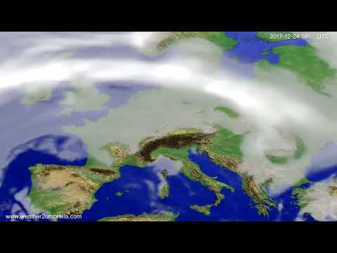 Cloud forecast Europe 2017-12-20