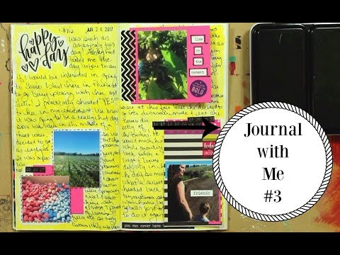 Midori Travel Notebook: Journal with Me #3 | Chrissie B.