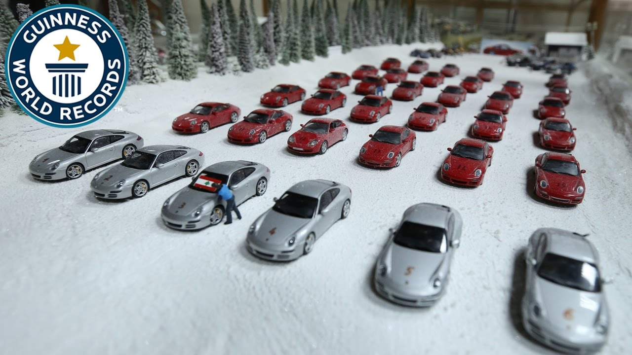 Largest collection of model cars and dioramas - Guinness World ...