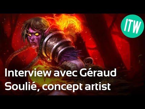 Interview de Géraud Soulié, concept artist freelance