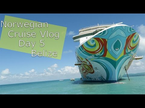 Norwegian Getaway Cruise Vlog | DAY 5 | BELIZE