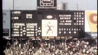 Original broadcast 1957 Detroit Lions Championship season highlights - DVD