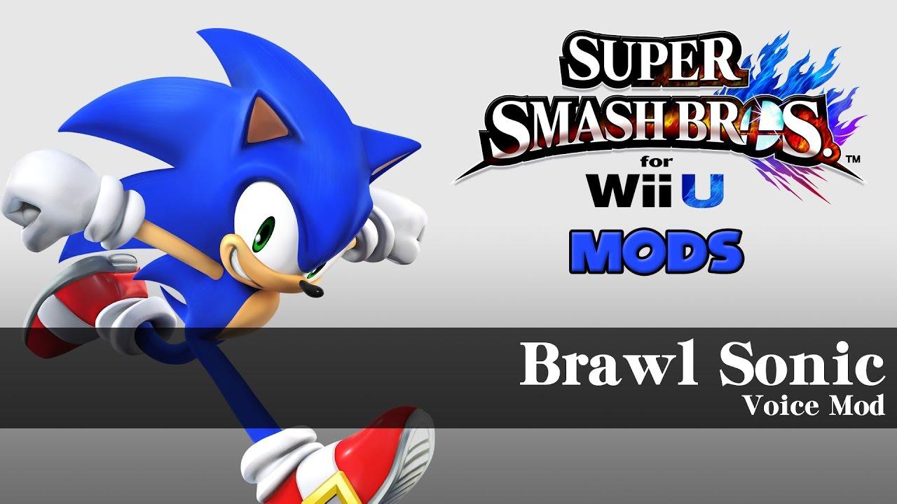 Smash Wii U - Brawl Sonic [Voice Mod]
