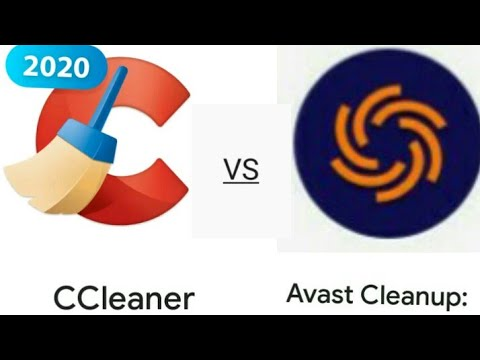 CCleaner VS Avast Cleanup