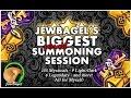 SUMMONERS WAR : JewBagel's Biggest Personal Summoning Session Ever!