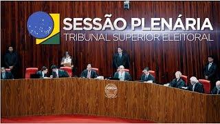 Assista a íntegra da sessão de julgamentos do Tribunal Superior Eleitoral realizada no dia 23 de novembro de 2017.