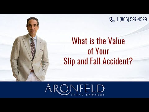 Determining the Value of Your Slip and Fall Accident