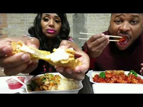 Kung Pao Shrimp and General Tso Chicken