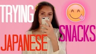 Trying Japanese Snacks || Miche Flores