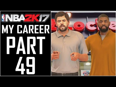 """NBA 2K17 - My Career - Let's Play - Part 49 - """"Shoe Shopping With Kyrie"""""""