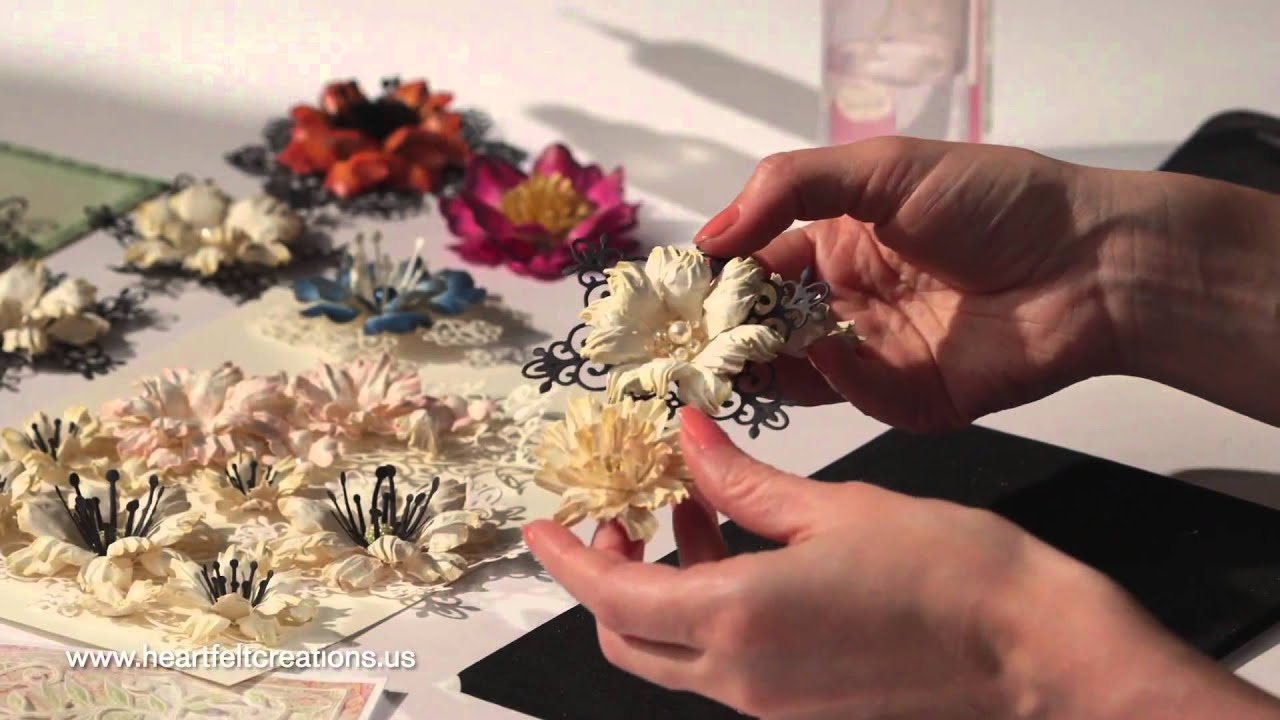 secret for making flowers with heartfelt creations arianna