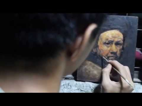 Amazing 13 year old Filipino Painter