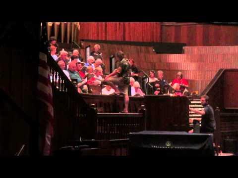 Ocean Grove Auditorium Choir Rehearsal.  August, 2014.