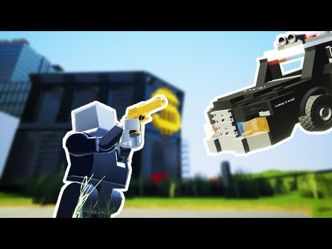 Brick Rigs Game | COPS AND ROBBERS! THE BANK HEIST! | Brick Rigs Multiplayer Online Gameplay