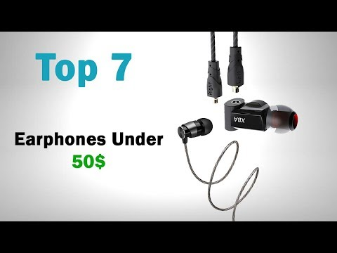Top 7 Earphones Under 50$ (Best 7 earphones from Aliexpress)