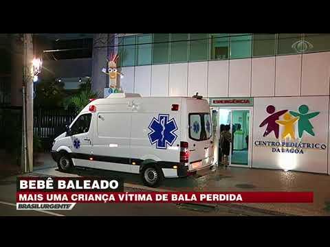 Bebê De Seis Meses é Atingido Por Bala Perdida No RJ