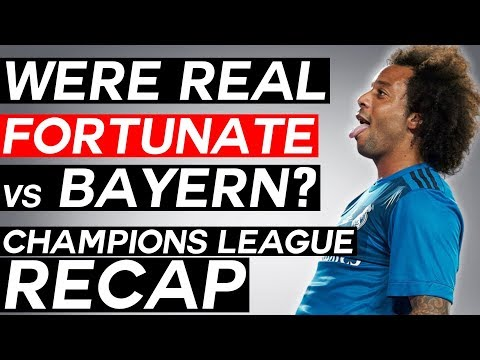 Were REAL MADRID Lucky vs BAYERN?! - UEFA Champions League Semi-Finals Review