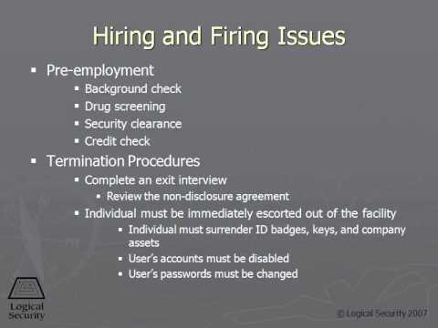 98 Hiring and Firing Issues