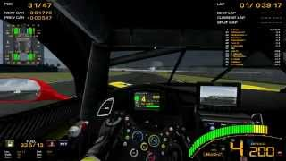 GTR2 - Le Mans 2014 First Lap + C7R Onboard + TS040 Horror Crash
