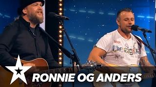 Ronnie Garner og Anders Brandt | Danmark Har Talent 2017 | Audition 6