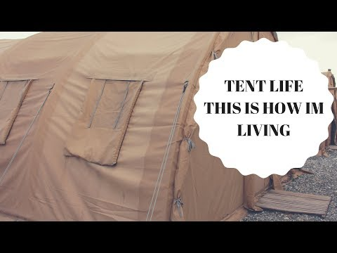 DEPLOYMENT LIVING | TENT LIFE | MILITARY