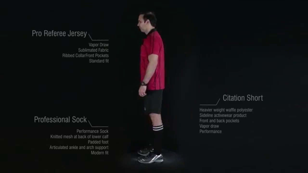 Soccer Referee kit by Admiral Sports - YouTube 72d88a121