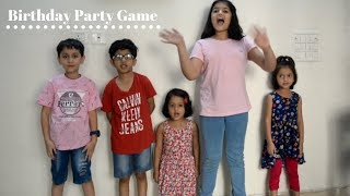 Birthday Party Game Idea | Fun & Easy Game for Kids & Adults | Indian Kids