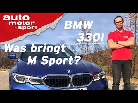 BMW 3er 330i G20 (2019): Was bringt M Sport? - Vorfahrt (Review) I auto motor und sport