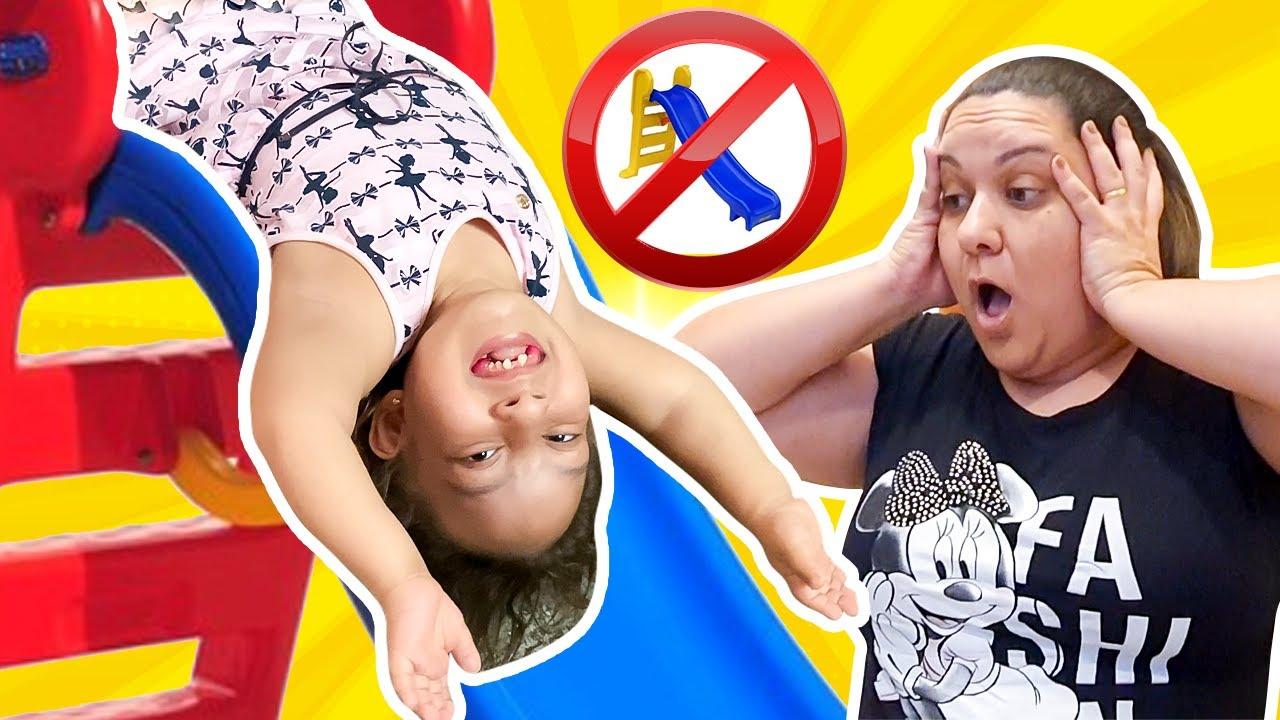Maria Clara aprende Novas Regras de Comportamento para Crianças - MC Divertida