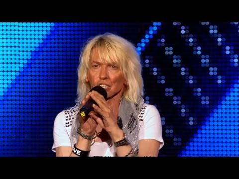 The Wilder-man is back to rock out - The X Factor 2011 Bootcamp - itv.com/xfactor