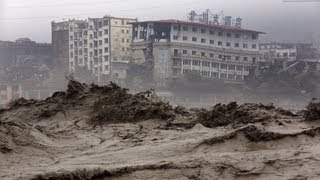 China Sichuan Province Rainstorms Floods Landslide