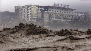China Sichuan Province Rainstorms Floods Landslide