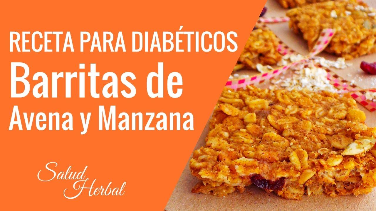 Recetas De Postres Para Diabeticos | Barritas De Avena Y