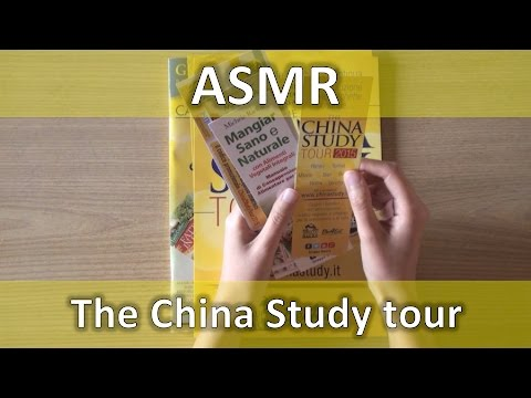 ASMR ITA The China Study tour + Cambiamenti canale [soft speaking]