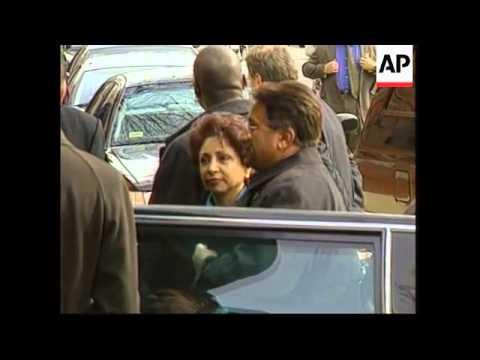 WRAP: Adds Musharraf at IMF