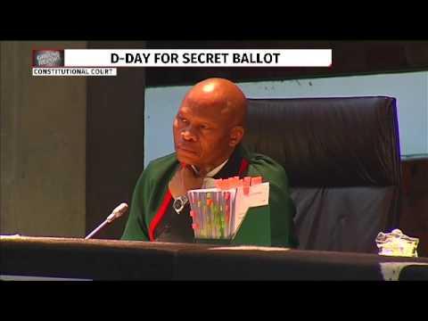 ConCourt hears secret ballot case : Mpofu for UDM