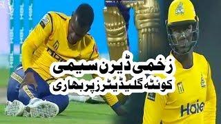 zakhmi darren sammy quetta gladiators par bhari peshawar zalmi won by 5 wickets hbl psl 2018