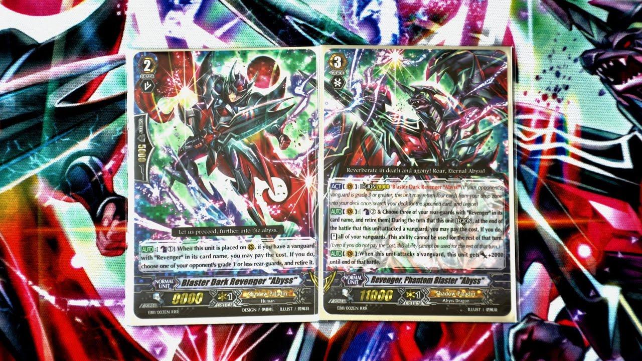 Interactive Anime Wallpaper Cardfight Vanguard Revenger Phantom Blaster Quot Abyss