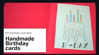 Beautiful Handmade Birthday Card Idea | DIY Birthday Card | Complete Tutorial