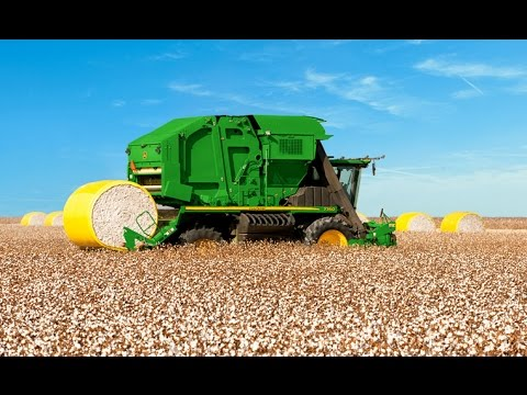 cotton harvesting machines