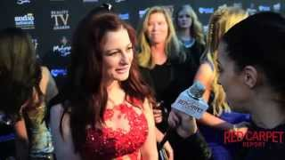 Rachel Reilly #BigBrother interviewed at the 3rd Annual Reality TV Awards #RTVAs
