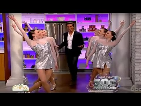 Clip of David Muir on The Chew, 05.31.16