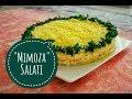 """""""Mimoza"""" salatı. """"Mimoza"""" salatının resepti I Afa's foodland az"""