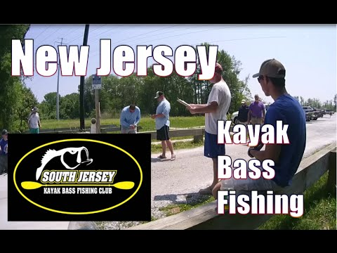 South New Jersey Kayak Bass Fishing Tournament Salem Canal