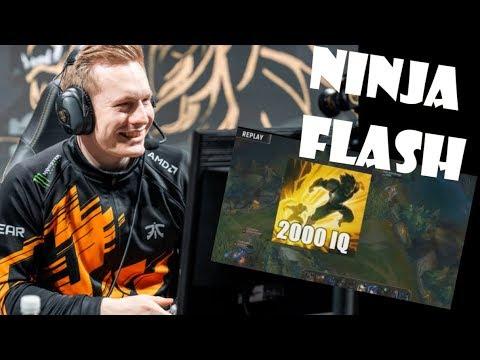 LOS MEJORES NINJA FLASH/ FLASH JUKE league of legends 🔴 thumbnail