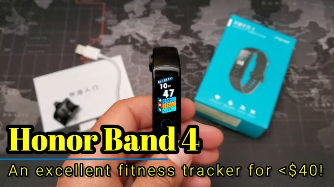 Honor Band 4 - An excellent fitness tracker for under $40!