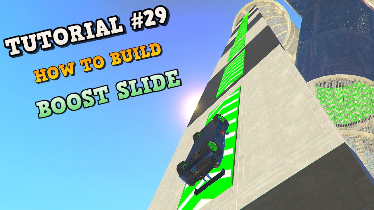 how to build a slide