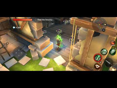 Dungeon Hunter 5 Solo Mission 1 (Epic Level) - Android Gameplay HD