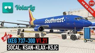 [VR EN VIVO] NEW RELEASE: IXEG 737-300 V1.21 | OCULUS RIFT thumbnail
