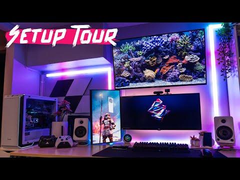 my-epic-studio-/-gaming-setup-tour